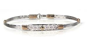 Gold Bead Creation Bracelet