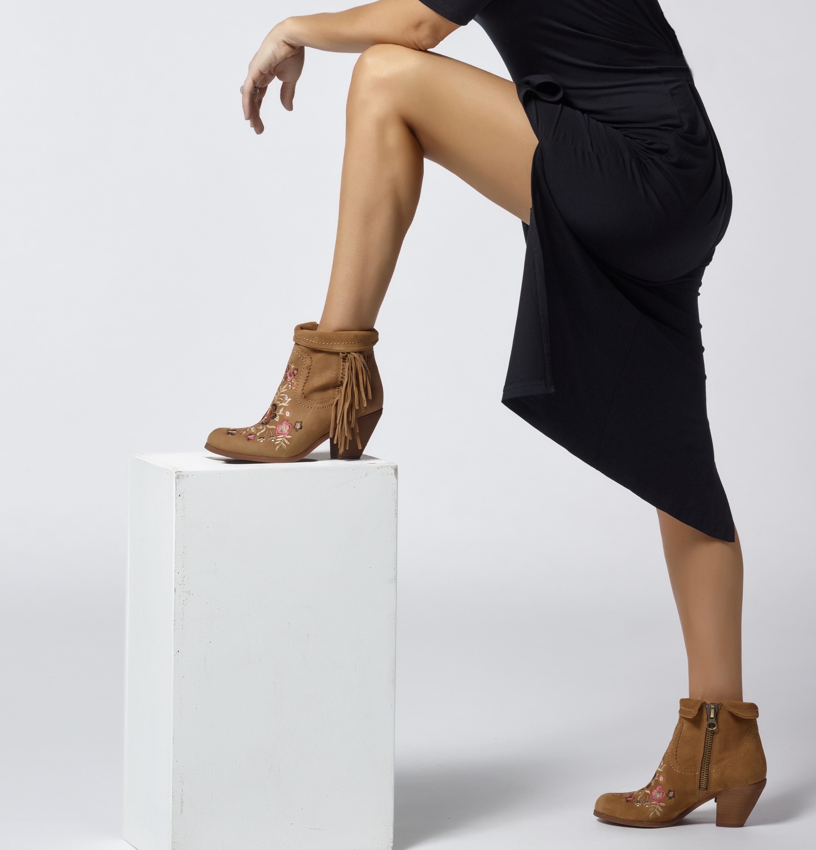 f097f60b2a36 Dress - Agnes and Dora Lee Dress Boots - Sam Edelman Letti Boots